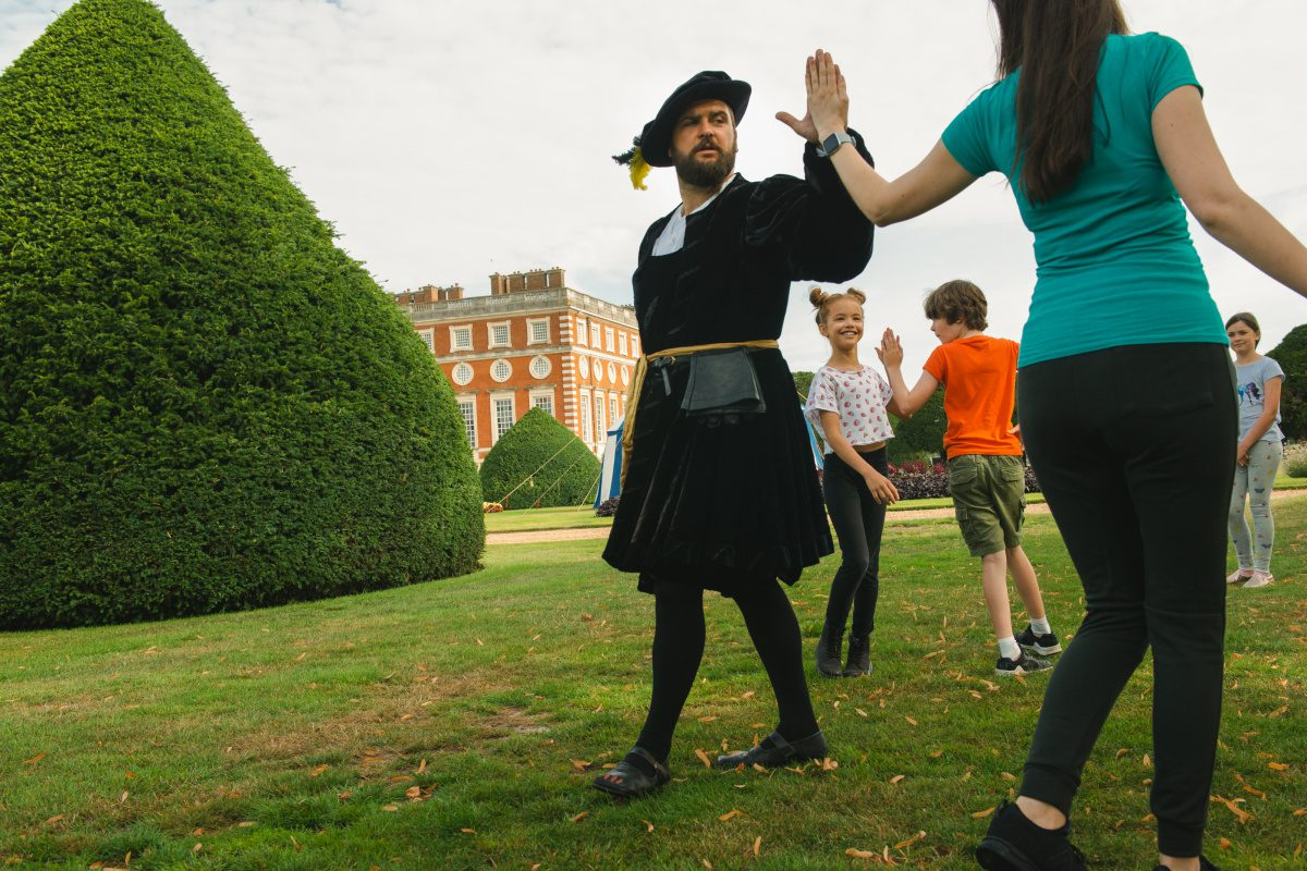 Henry VIII's Sporting Academy at Hampton Court Palace