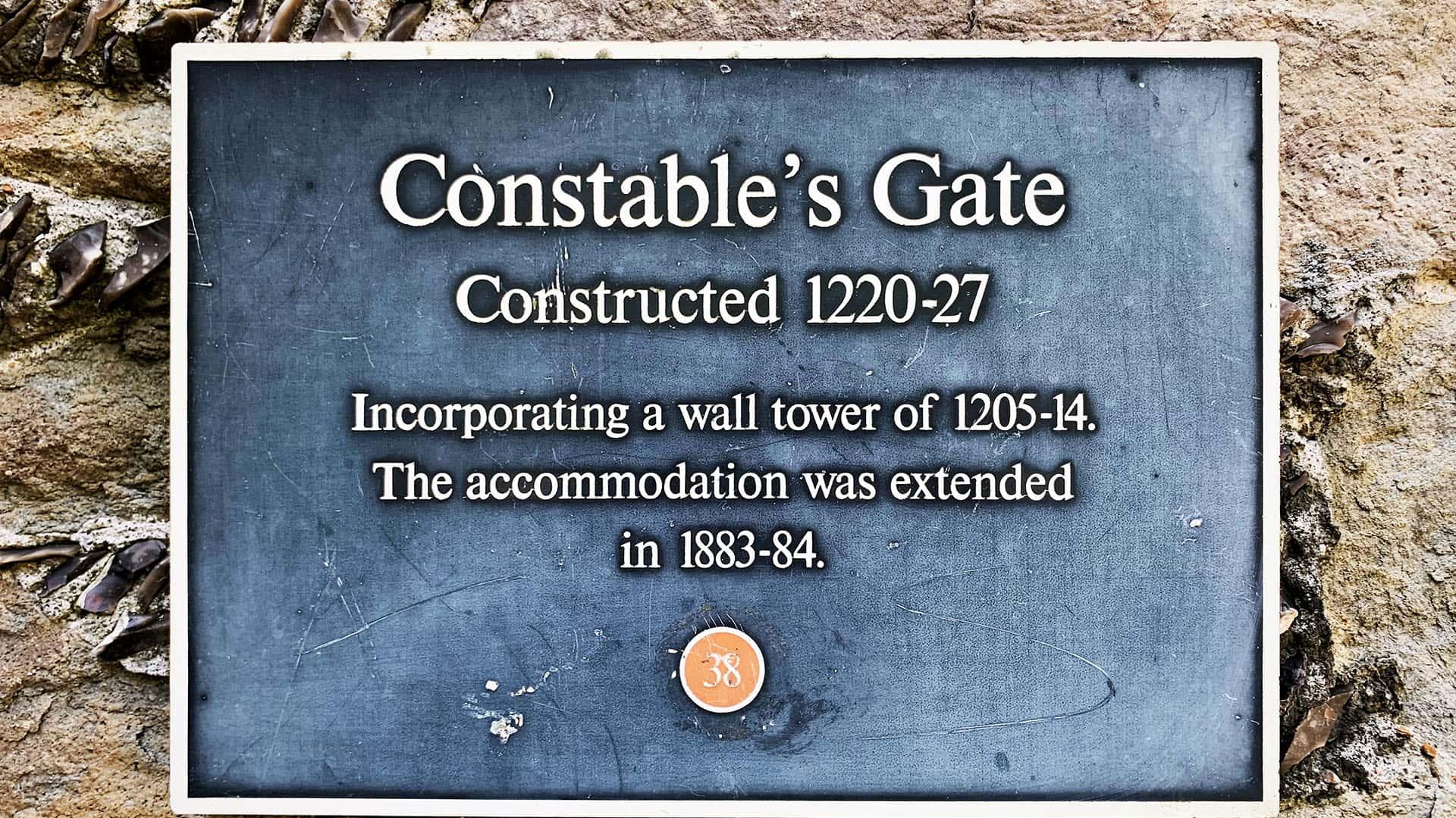 Constables Gate – Dover Castle